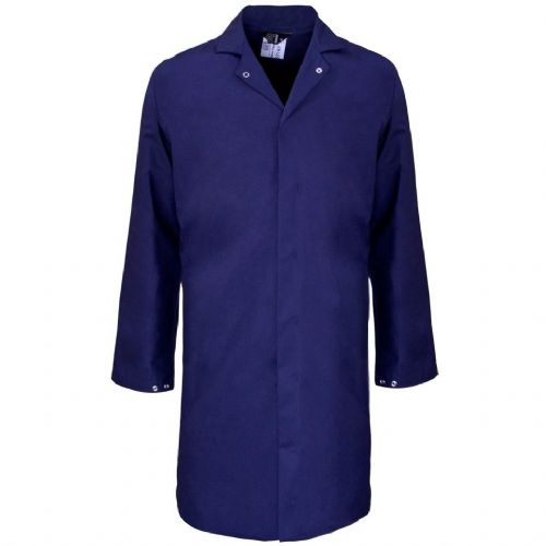 Supertouch Polycotton Navy Food Coat
